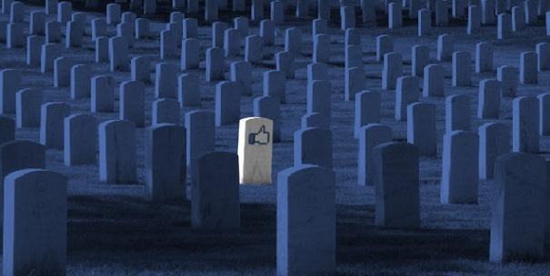 la morte di Facebook